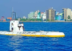 Submarine Diving In Maldives